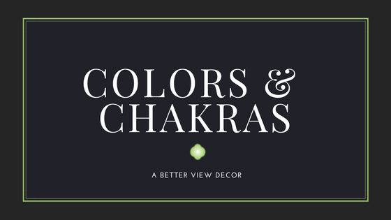 COLORS AND CHAKRAS