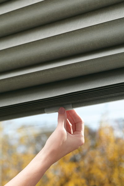 Child-Safe Window Treatments - Roman Shades