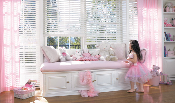 Child-Safe Window Treatments - Wood or Faux Blinds